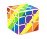Kostka YJ Unequal Inequilateral Rainbow 3x3x3 biała