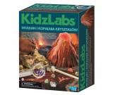 Wulkan i kopalnia kryształów - KidzLabs 00-05532
