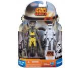 Star Wars Rebels Garazeb Zeb Orrelios + Stormtrooper - figurki 10 cm. A8656 MS01