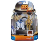Star Wars Rebels C3-PO + R2-D2 - figurki 10 cm. A8657 MS02