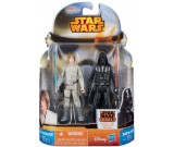 Star Wars Rebels Luke Skywalker + Darth Vader - figurki 10 cm. A8658 MS03