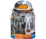 Star Wars Rebels Boba Fett + Stormtrooper - figurki 10 cm. A8660 MS05