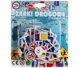 Znaki drogowe do makiet 21 elementów