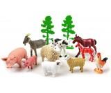 Zwierzęta domowe z drzewkami